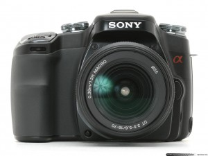 Sony Alpha 100 DSLR