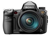 Photo of a Sony Alpha 850 24.6 MP Full Frame DSLR Camera