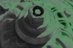 Fire Hydrant - Neon Glow - Green