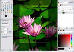 GIMP Free Photo Editing Software Screenshot