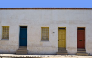 Photograph of Barrio Historico Doors - Tucson, AZ