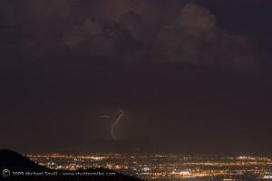 Phoenix Lightning Storm Photo