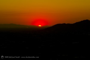 Sunset-from-Camelback-Mountain-Phoenix