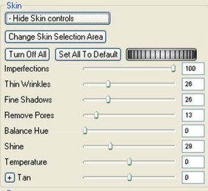 Portrait Professional Skin Enhancement Tools