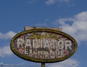 Grand Ave. Vintage Sign Photography - Smith Radiator Exchange