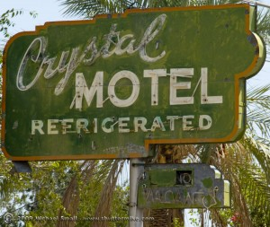 Grand Ave Phoenix Sign Photography - Crystal Motel