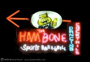 Hambone Bar and Grill Neon Sign - Mesa, AZ