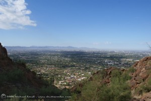 Photo of Phoenix seen from Camelback Mountain