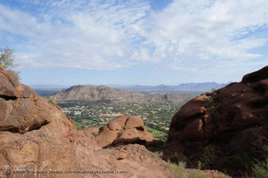 Photo of Paradise Valley seen from Camelback Mountain