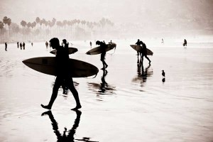 "The Winning Photograph ""Morning Surfers"" by Carrie Mundy"