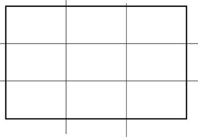 Rule of Thirds layout