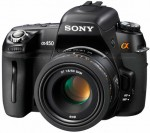 the new Sony Alpha 450 being released in February 2010