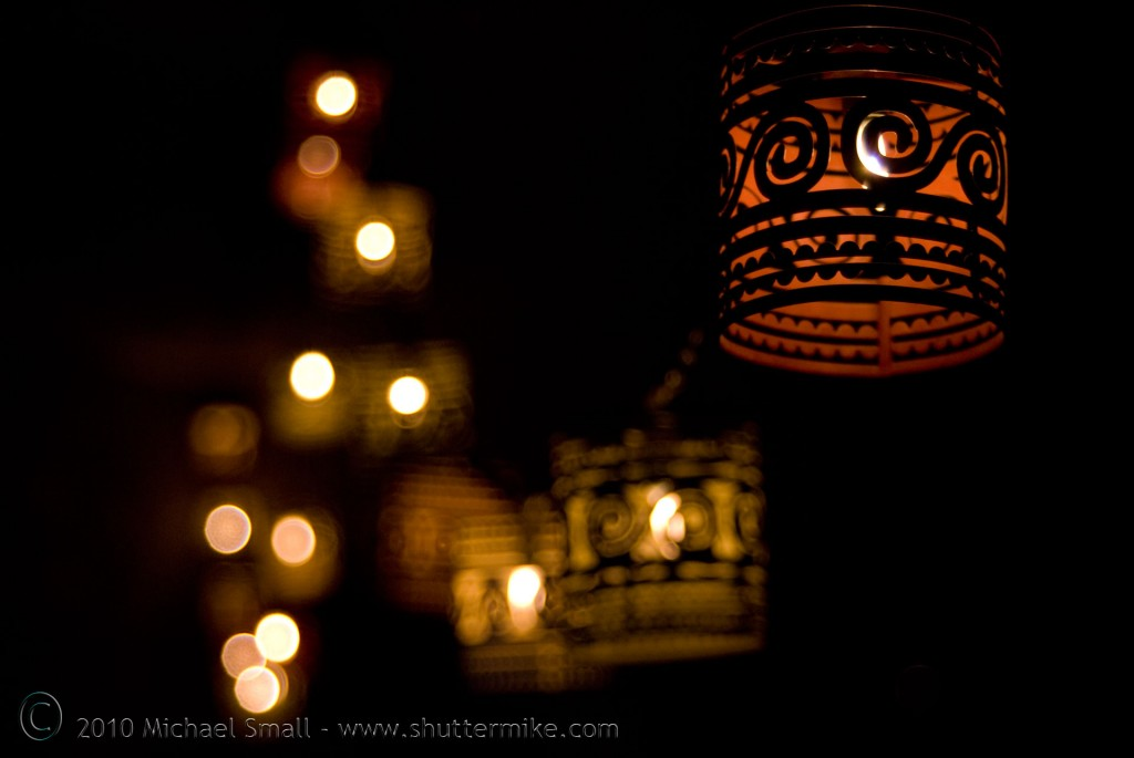 Example of bokeh in photography