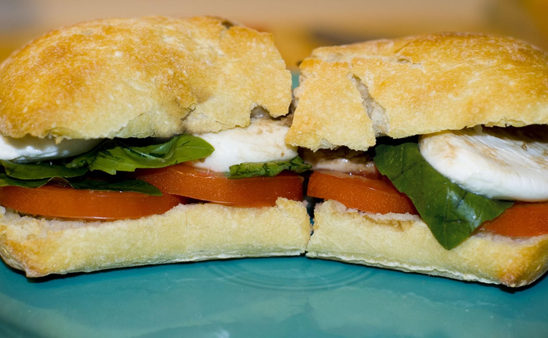 Caprese+Sandwich Caprese+sandwich