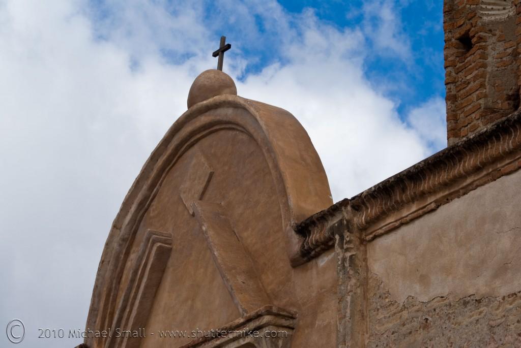 Arizona photography of Tumacacori Mission