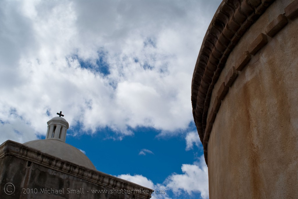Photo of Tumacacori Mission in Southern Arizona