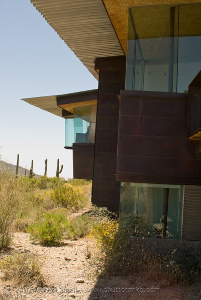 Photo of a home on the AIA Phoenix Home Tour 2010