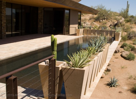Photo of a home on the AIA 2010 Phoenix Home Tour