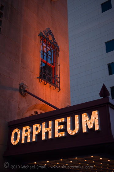 Photo of the Orpheum Theater in Phoenix