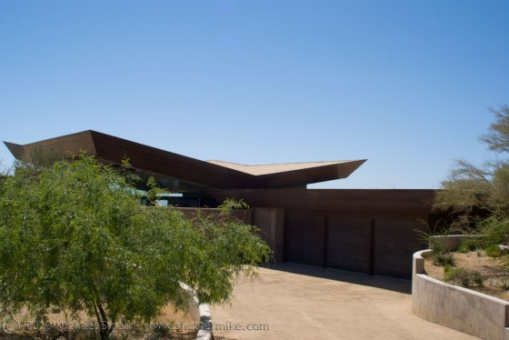 Photo of the Desert Wing House at the AIA 2010 Phoenix Home Tour