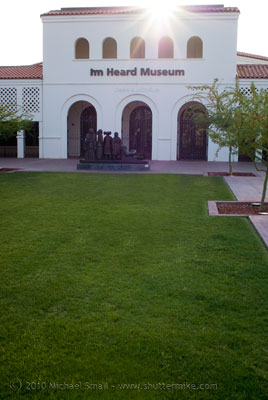 Photo of the Heard Museum in Phoenix