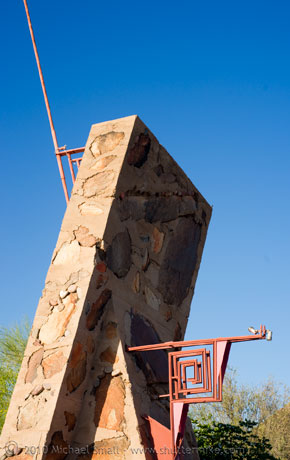 Photo of the Entry to Taliesin West