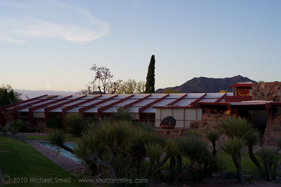 Photo of the Frank Lloyd Wright School of Architecture, Taliesin West
