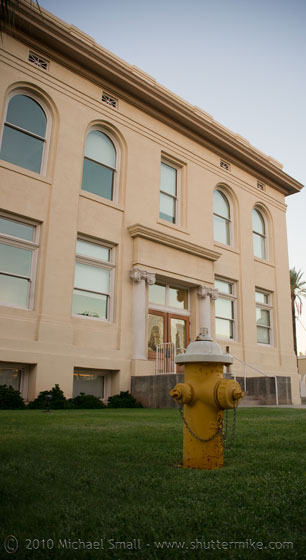 Photo of Phoenix Union High School now the U of A College of Medicine