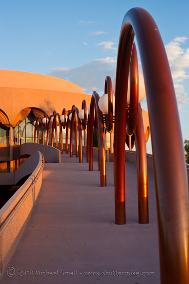 Photo of a Gammage Auditorium Pedestriam Walkway