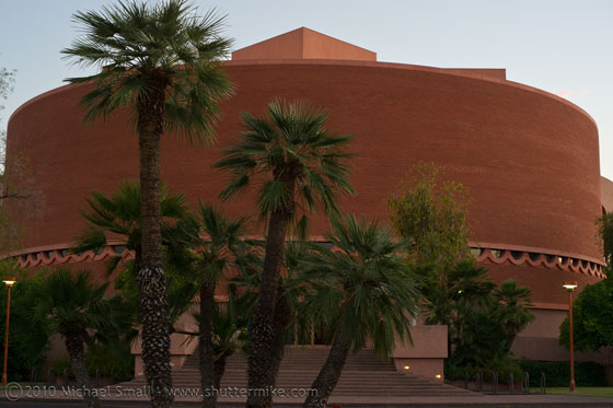 Photo of Gammage Auditorium
