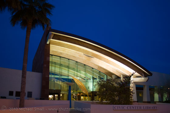 Photo of the Scottsdale Civic Center Library