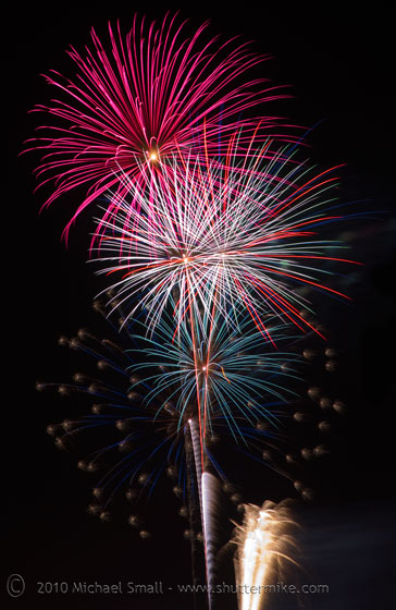 Photo of fourth of july fireworks