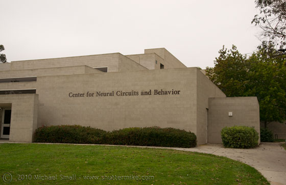Photo of the Center for Neural Circuits and Behavior at UCSD
