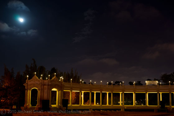 Photo of the Spreckels Organ Pavilion in Balboa Park