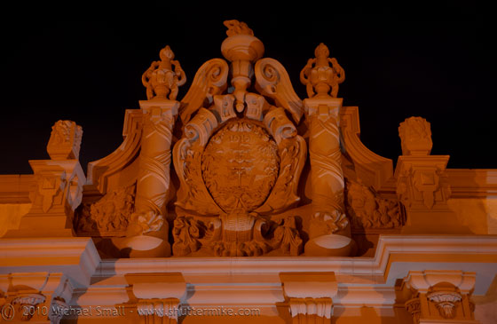 Photo of an architectural detail at Balboa Park