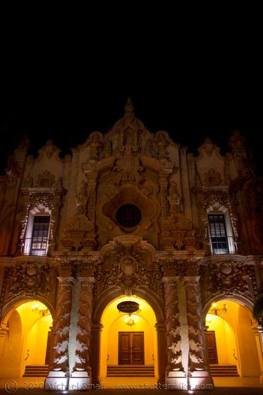 Photo of a museum on Balboa Park's El Prado