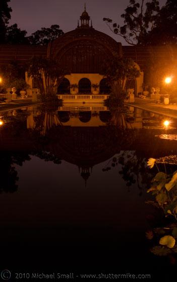 Photo of the Balboa Park Botanical Building