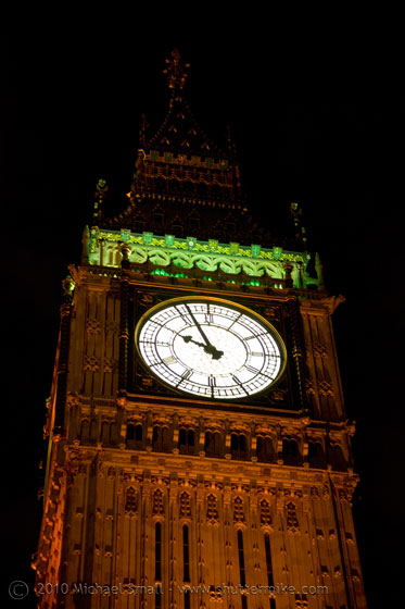 Photo of Big Ben at night