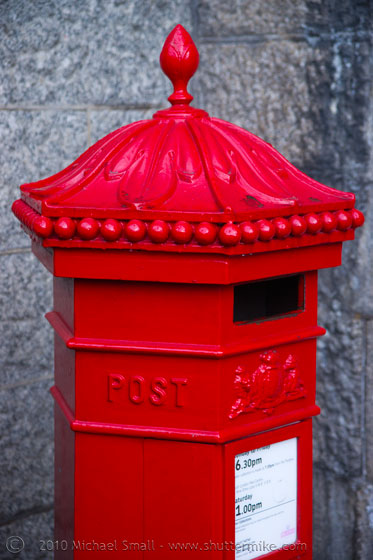 Photo of a London pst box