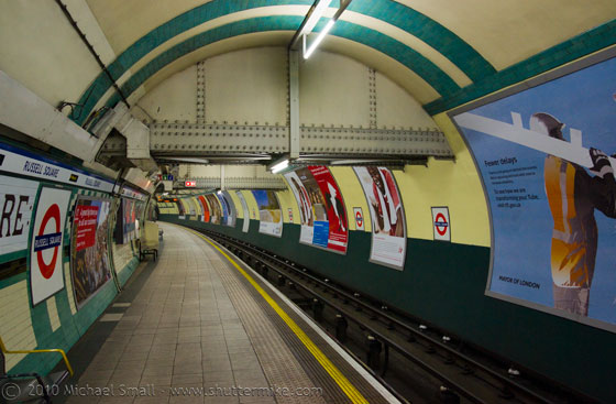 Photo of the London Tube