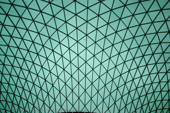 Photo of the British Museum atrium in London