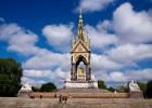Photo of the Prince Albert Memorial in London