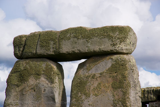Photo of Stonehenge lintel inEngland