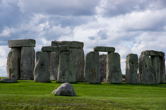 Photo of Stonehenge in England