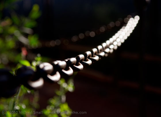 Photo of a chain