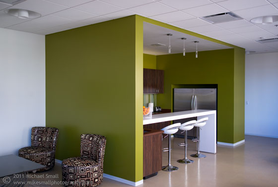 Harding shymanski company office reception area for Cool office rooms