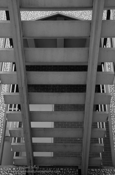 Architectural pattern photograph
