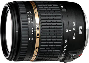 Photo of Tamron's new 18-270mm Di II VC PZD 15X all-in-one zoom