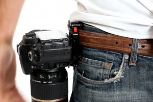 Photo of the Capture Camera Clip System