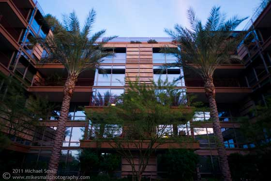 Photo of the Optima Camelview condos in Scottsdale